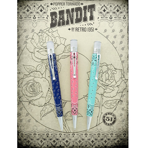 Retro 51 Popper Easy Flow Ballpoint Pen Bandit