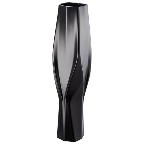 Rosenthal Vase Collection by Zaha Hadid Weave, Tall Black (2019)