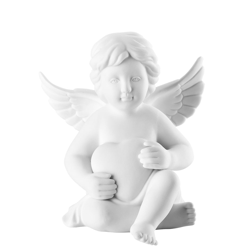 Heavenly Messengers, Rosenthal Angel with Heart