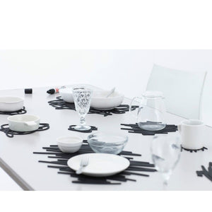 Modern Accents Silicone Placemat Scratch