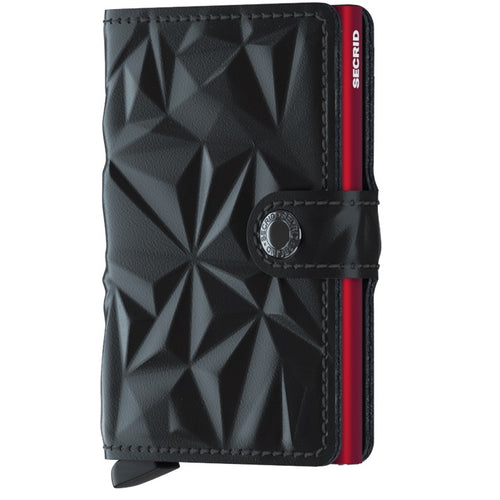 Secrid Mini-wallet Prism Black and Red