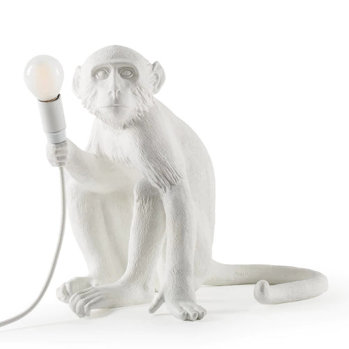 Seletti The Monkey Sitting Table Lamp