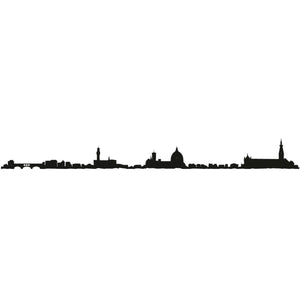 "The Line 19.5"" City Silhouette Skyline Florence"