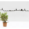 "The Line 49.25"" City Skyline Silhouette Jerusalem"