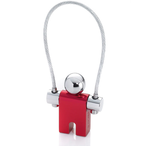 Troika Keyring Jumper Red Chrome