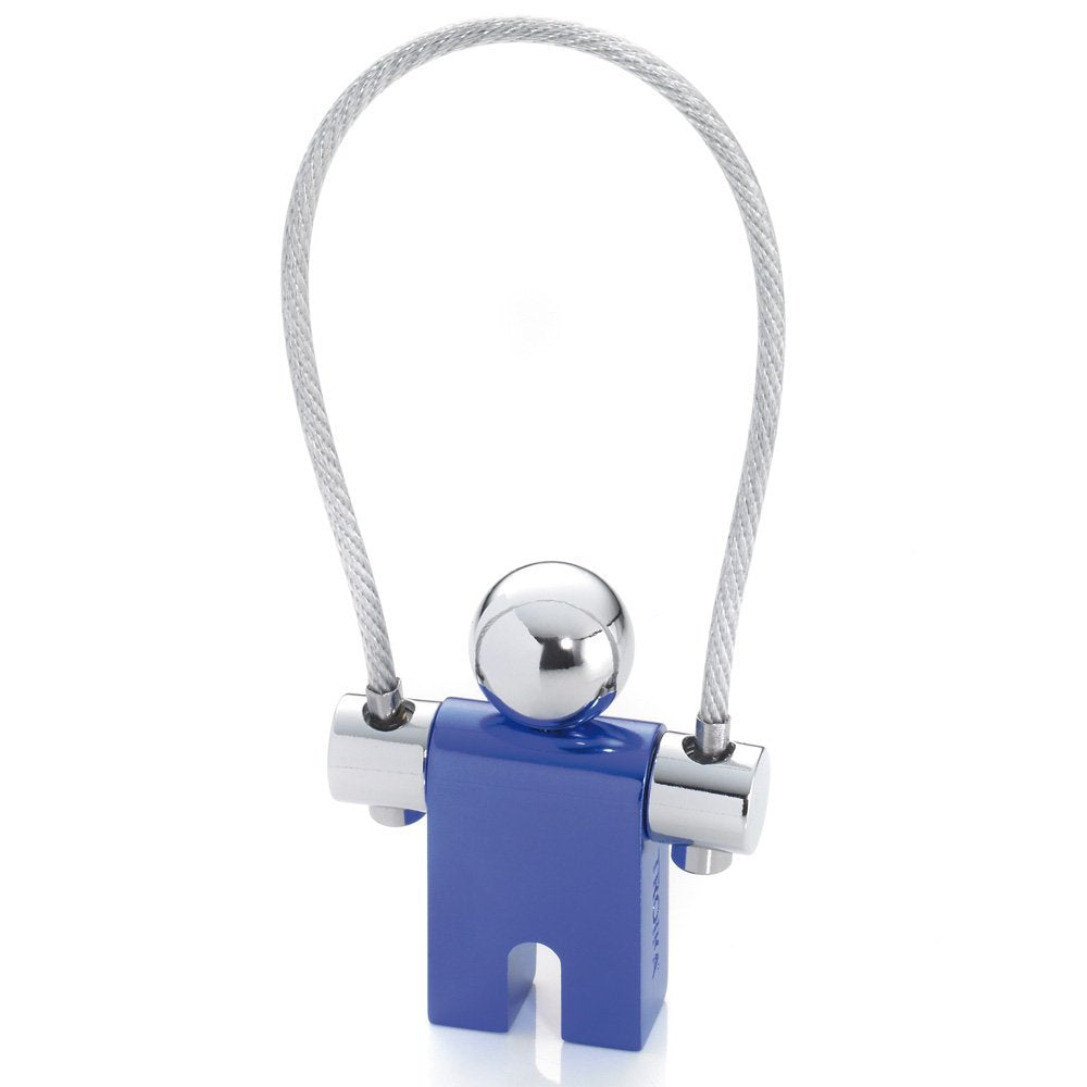 Troika Keyring Jumper Blue Chrome