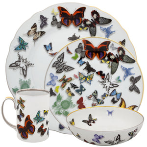 Christian Lacroix Dinnerware Butterfly Parade 4 Pcs