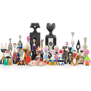 Vitra Wooden Dolls by Alexander Girard 1952