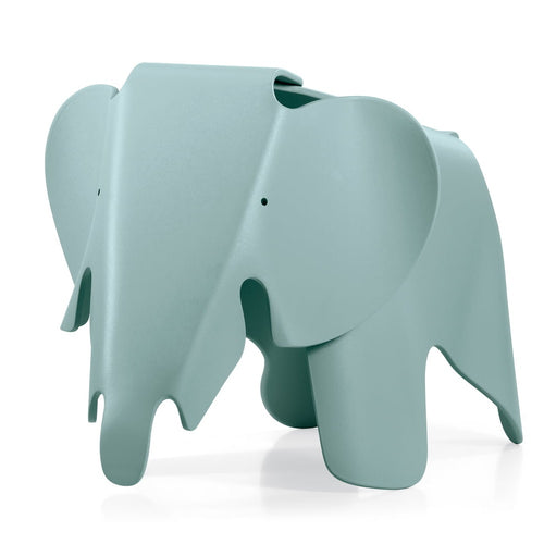 Recreation of the Eames plywood elephant, but in colorful polypropylene which can be used as decoration or gifted for kids.