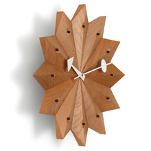 Vitra Fan Wall Clock by Gerge Nelson in Cherrywood