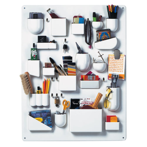 Vitra Uten Silo, Accessories Wall Organizer, White