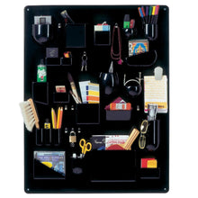 Vitra Uten Silo, Accessories Wall Organizer, Black