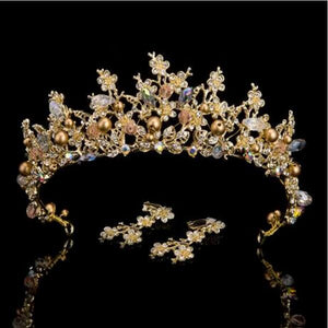 Luxury Queen Tiara Crown