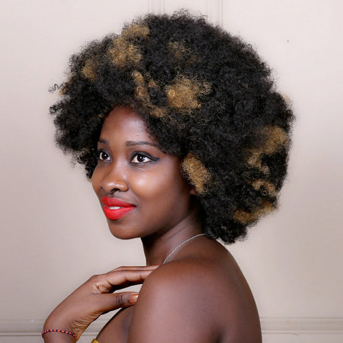 Synthetic Afro Kinky Wigs