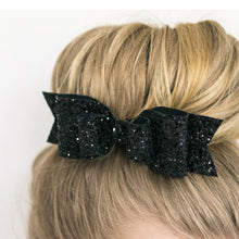 Load image into Gallery viewer, Glitter Shiny Sequins Bowknot Clip