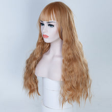 Load image into Gallery viewer, African Heat Resistant Synthetic Wigs
