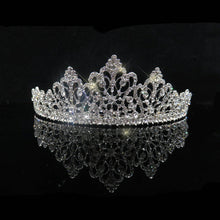 Load image into Gallery viewer, Luxury Bridal Tiara Crown