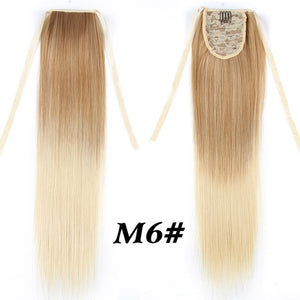 Long Straight Ponytail Hair Extensions