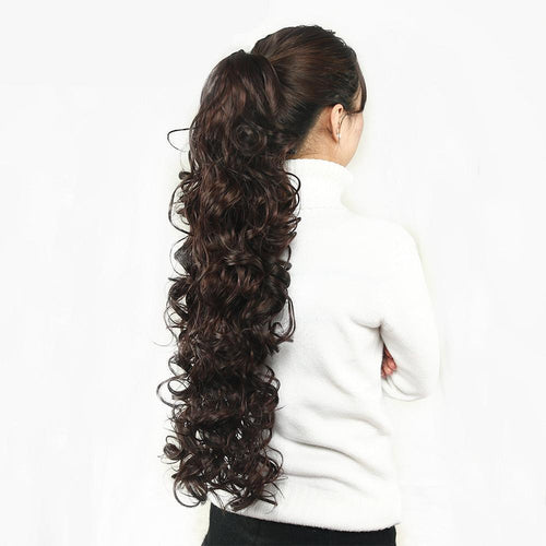 Long Curly Claw Clip Ponytail