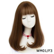 Load image into Gallery viewer, Synthetic Long Straight Natural Wig