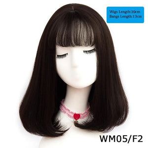 Synthetic Long Straight Natural Wig