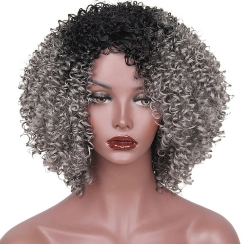 Kinky Synthetic Wig