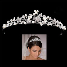 Load image into Gallery viewer, Fashion Crystal Wedding Bridal Tiara Crown