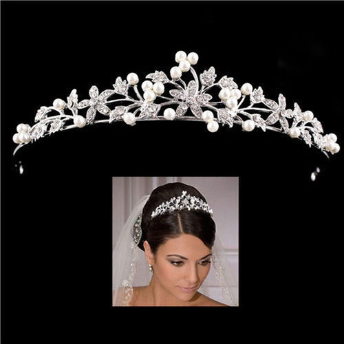 Fashion Crystal Wedding Bridal Tiara Crown
