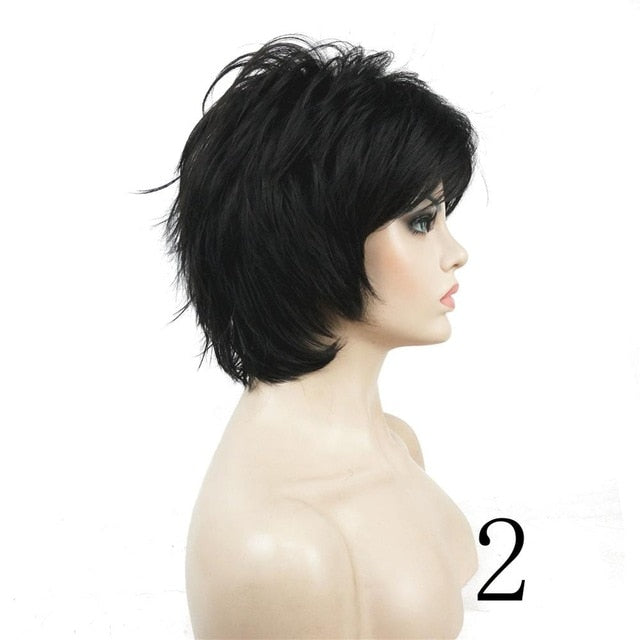 Short Straight Layered Hair