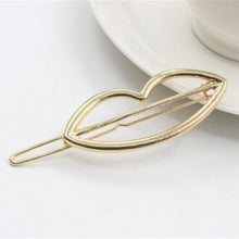 Load image into Gallery viewer, Fashion Plated Metal Hair Clips
