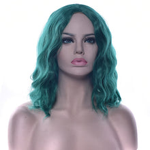 Load image into Gallery viewer, Short Wavy Synthetic Hair Wigs