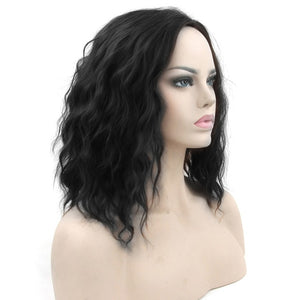 Short Wavy Synthetic Hair Wigs