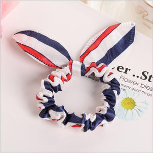 Elastic Rabbit Ears Hair Band for Girls