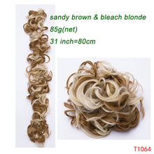 Load image into Gallery viewer, Elastic Band Hair Extension