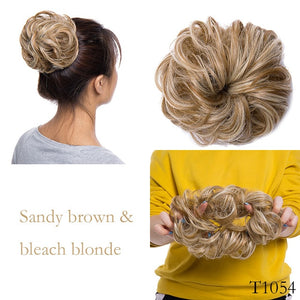 Elastic Band Hair Extension