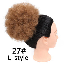 Load image into Gallery viewer, African Short Kinky Drawstring Ponytail