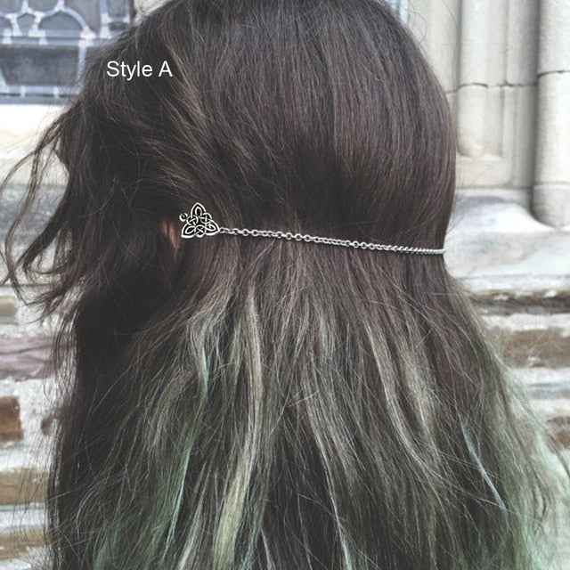 Women's Viking Celtic Knot Hair Accessory (FREE Plus Shipping)