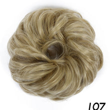 Load image into Gallery viewer, Curly Hairpiece Extension Bun