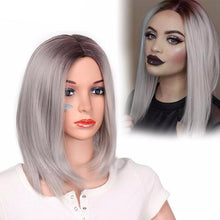 Load image into Gallery viewer, Synthetic Short Fiber Straight Wig