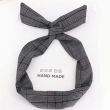 Load image into Gallery viewer, High Quality Cotton Striped Headband