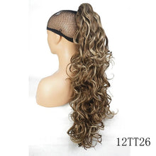 Load image into Gallery viewer, Long Curly Claw Clip Ponytail Hair