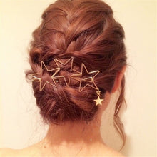 Load image into Gallery viewer, Fashion Star Hair Clip