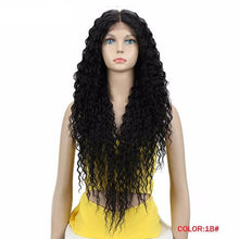 Load image into Gallery viewer, Long Synthetic Lace Front Wig