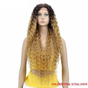Long Synthetic Lace Front Wig