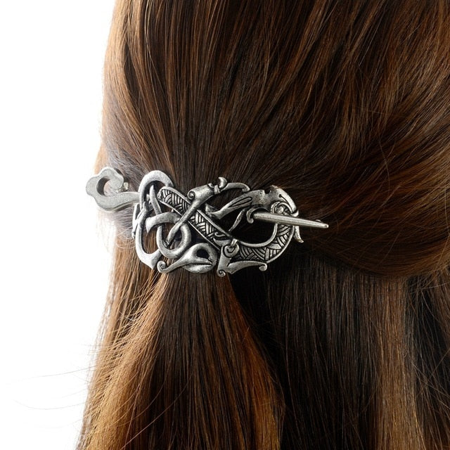 Women's  Viking Jelling Style Hairpin Hair Clips