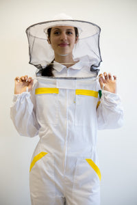Beekeeping suit Goodyear PRO - Retro hat