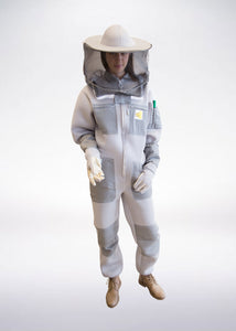 Ventilated beekeeping suit Goodyear PRO 3D - retro hat