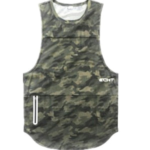 Bodybuilding Workout Sleeveless Tank Top