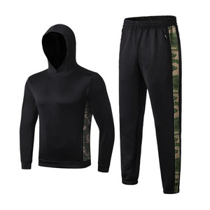 Mens Sports Suit Gym Fitness Compression Set