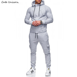 Autumn Winter Sportwear fitness Tracksuit